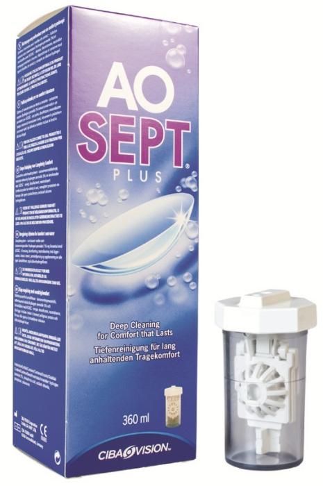 Aosept Plus 360 ml monofase + portalenti