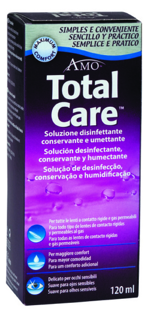 Total Care conservante 120 ml conservante RGP